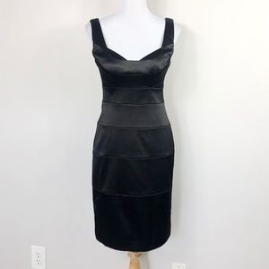 White House Black Market Black Sheath Dress
